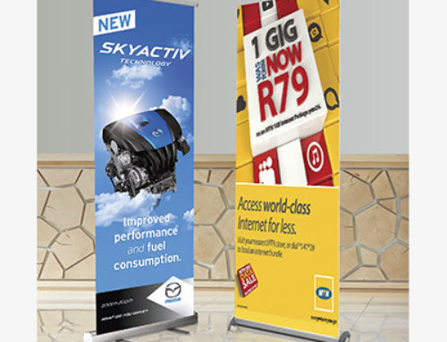 Pull Up Banner Deluxe – PVC